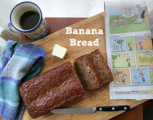 Banana Bread with Text