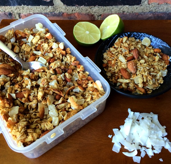 Coconut Lime Pineapple Granola B