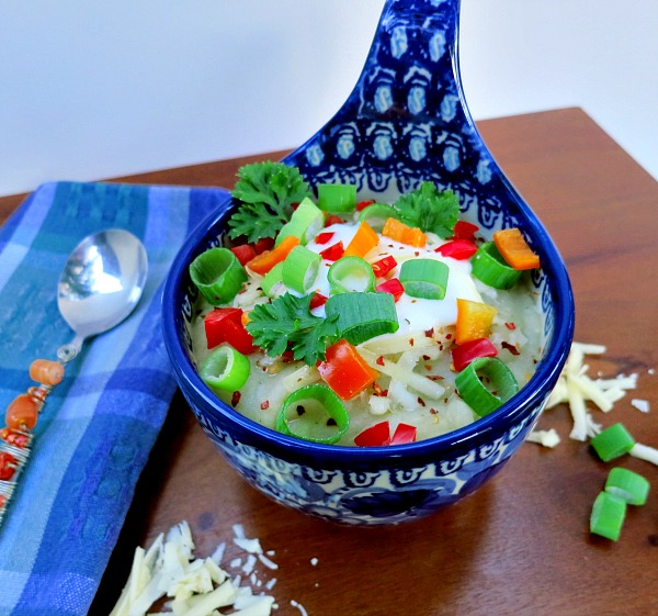 Mexican Based Potato Soup