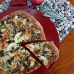 Apple Pizza with Caramelized Onions, Crispy Sage & Brown Butter