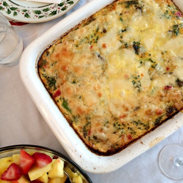 Christmas Morning Veggie Frittata