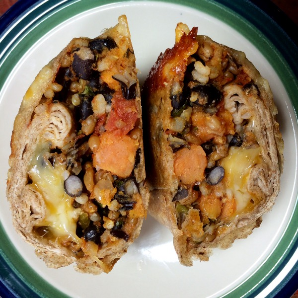 Nature's Bin Sweet Potato Cheddar Wrap