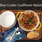 Slow Cooker Cauliflower Masala