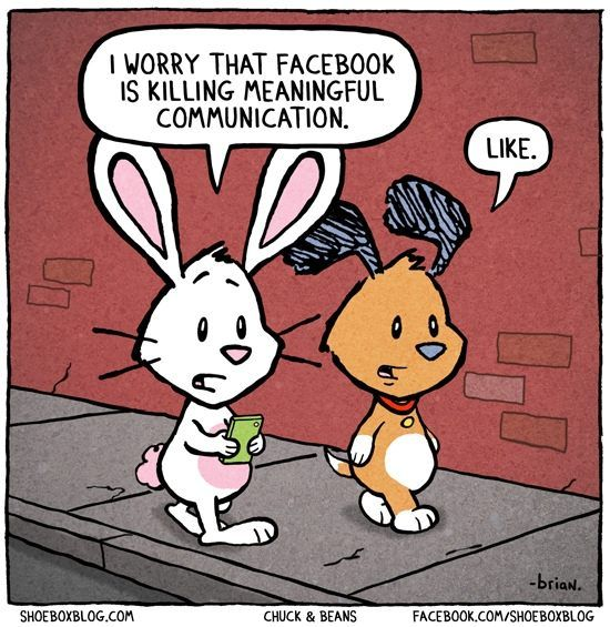 FB Killing Human Interaction