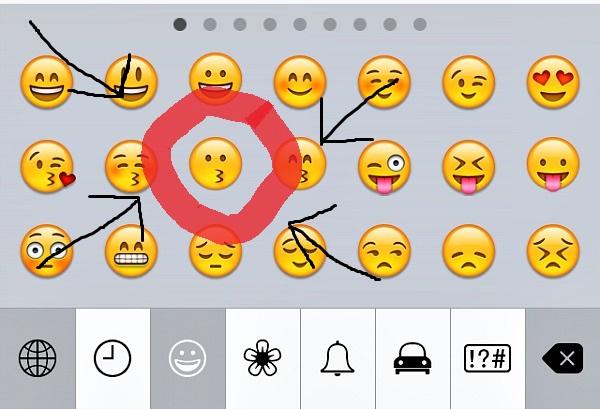Emoji Confusion Kiss