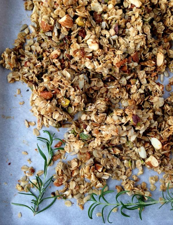 Parmesan Rosemary Savory Granola 2