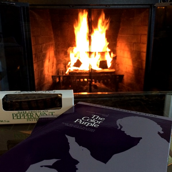 The Color Purple, Chocolate and a Fire