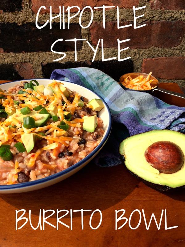 Chipotle Style Burrito Bowl