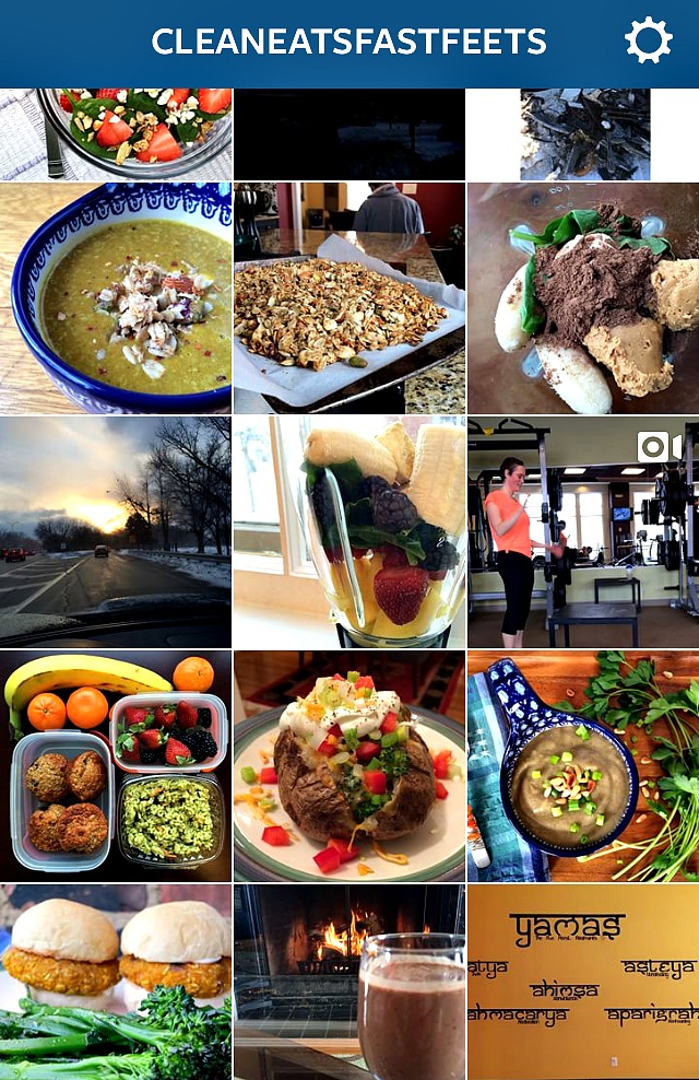Clean Eats Fast Feets Instagram