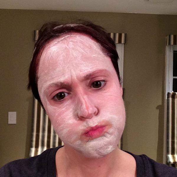 Meg Washing Face