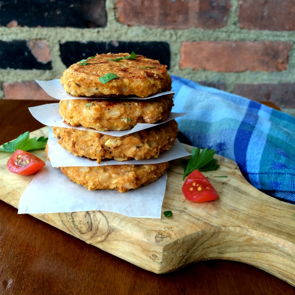 Squash Fritters with Spinach, Sun-dried Tomatoes, and Mozzarella