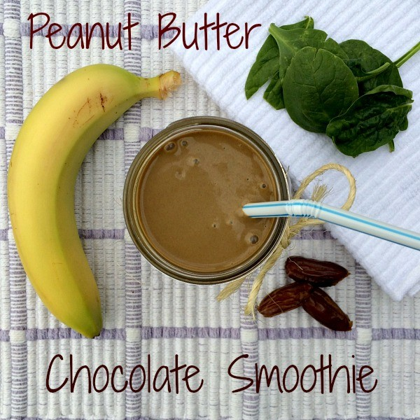 Peanut Butter Chocolate Smoothie