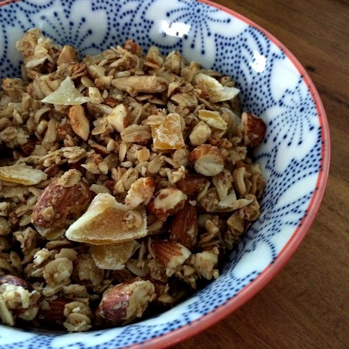 Almond Mango Granola