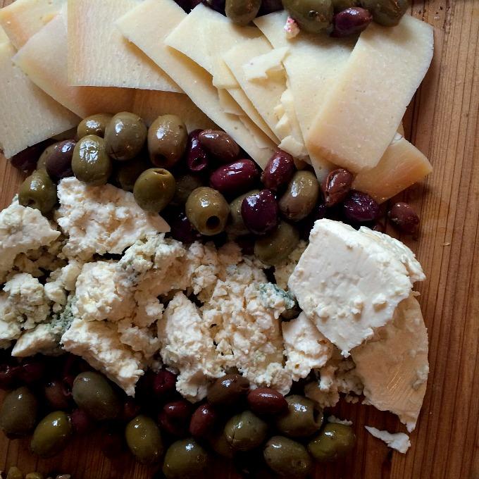 Blend 2015 Cheese Platter