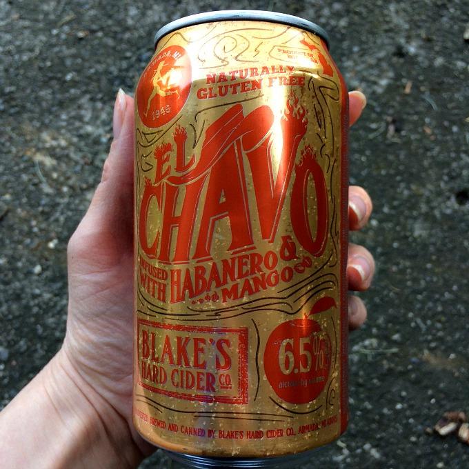 Habanero Mango Hard Cider