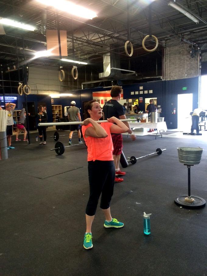 Meg CrossFit Class Blend 2015