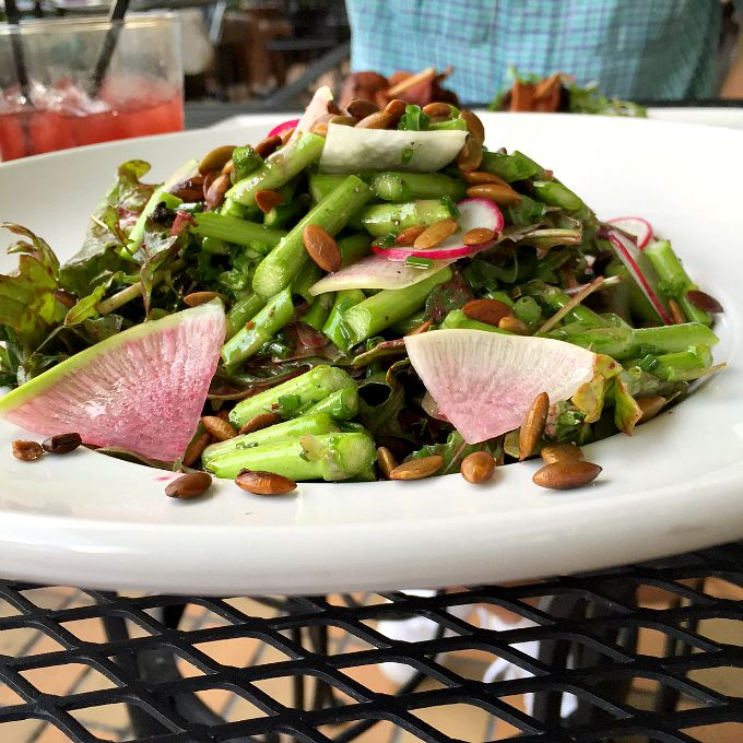 Asparagus Power Salad Forage Public House Dinner