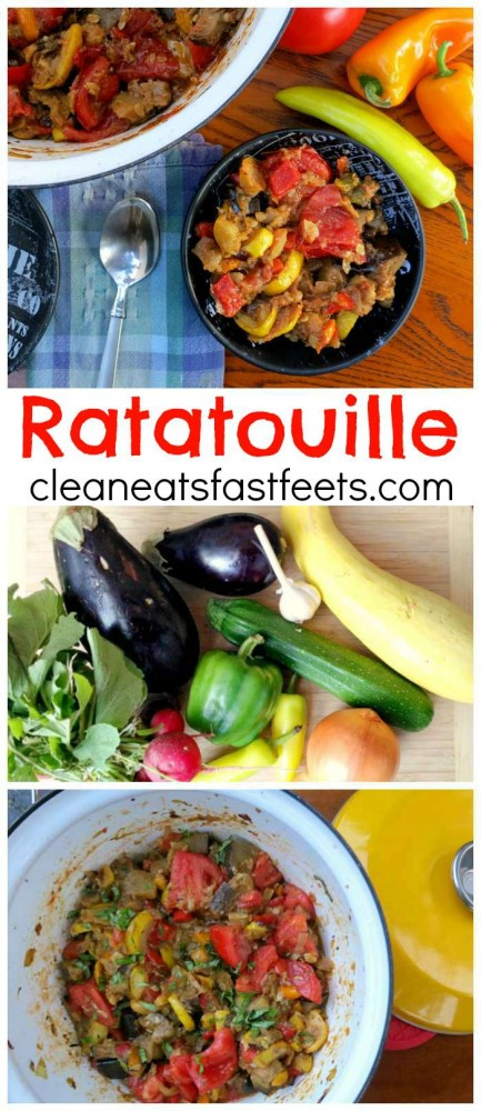 Ratatouille. A savory stew of late summer produce, which pairs perfectly with your pasta of choice.