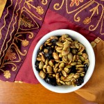 Pumpkin Cranberry Trail Mix. A sweet and salty combo designed to titillate your taste buds and satisfy your stomach.