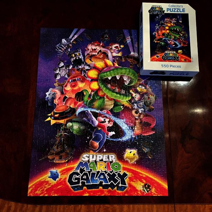 Super Mario Galaxy Puzzle