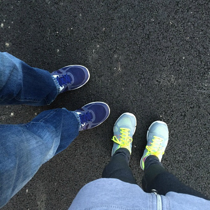 Walks with the Hubby Sneakers