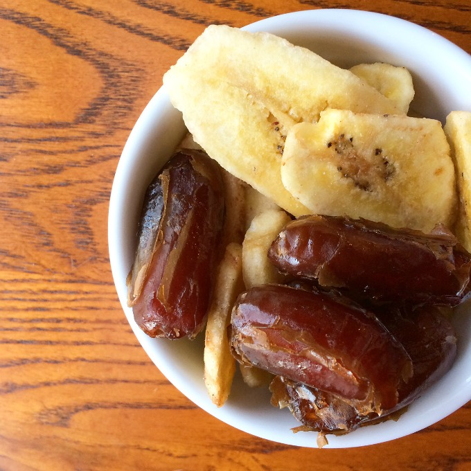 Dates and Banana Chips