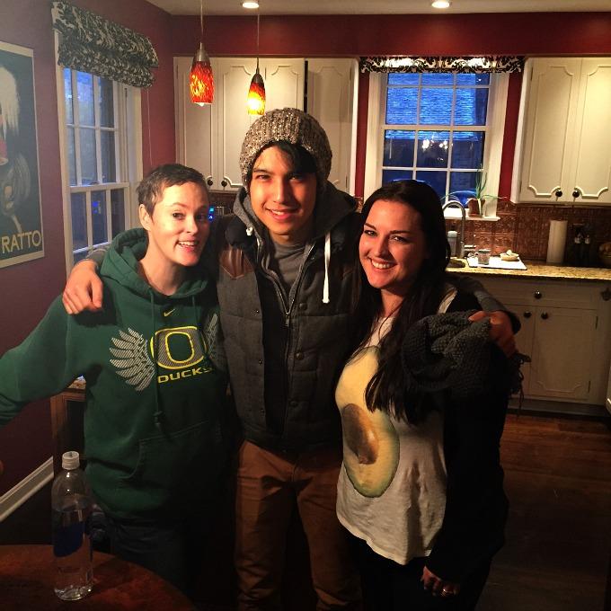 Meg, Arman and Juli