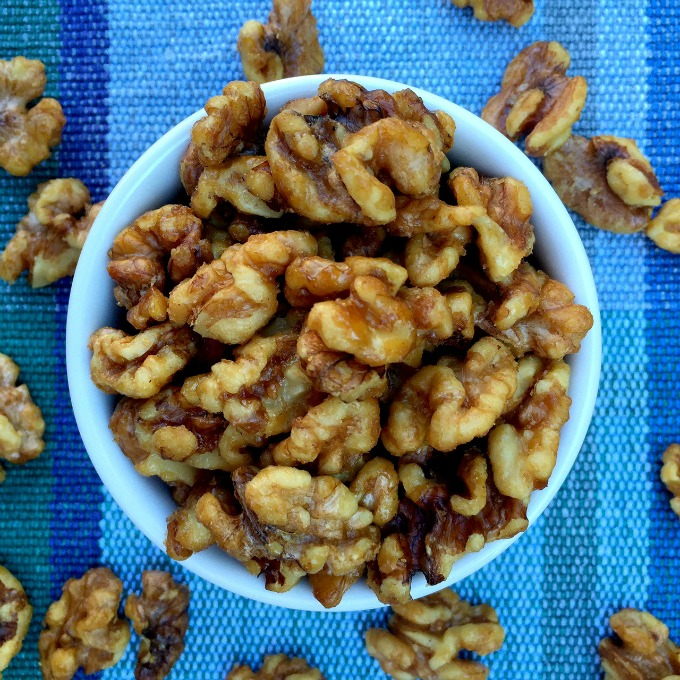 Oven Roasted Candied Walnuts