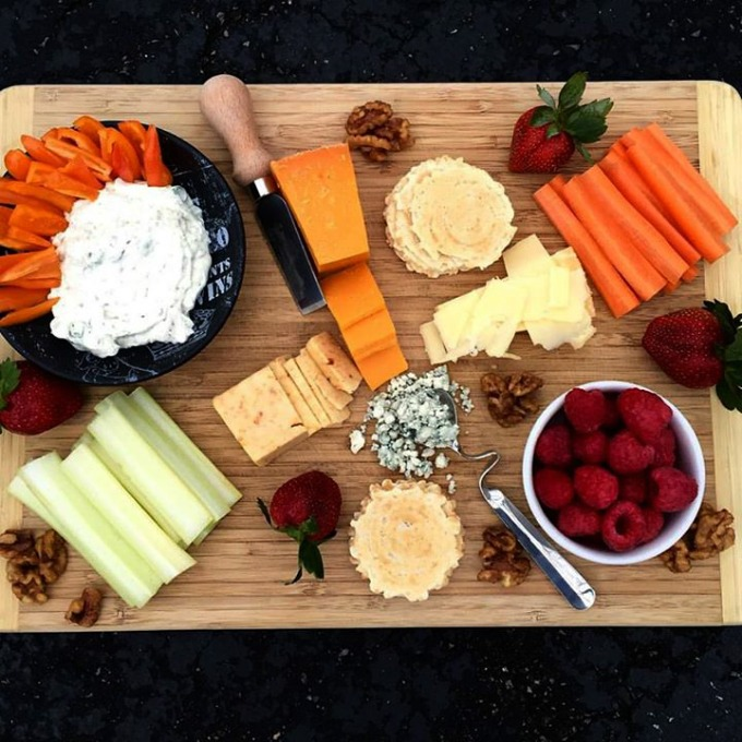 Snack Platter for Dinner