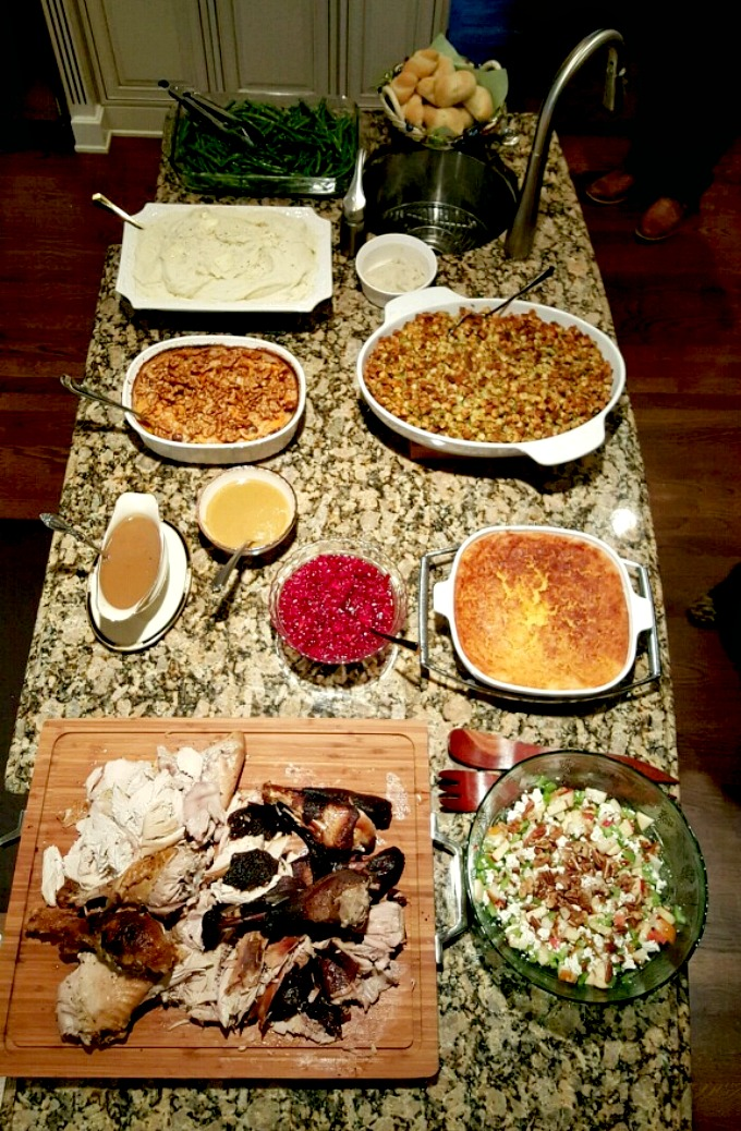 Thanksgiving 2015 Spread