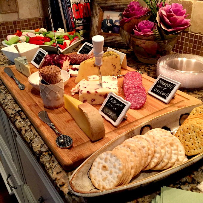 Thanksgiving 2015 Veggie and Cheese Spread