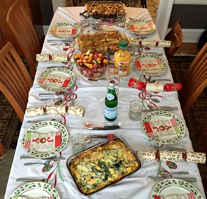 Christmas Breakfast 2015