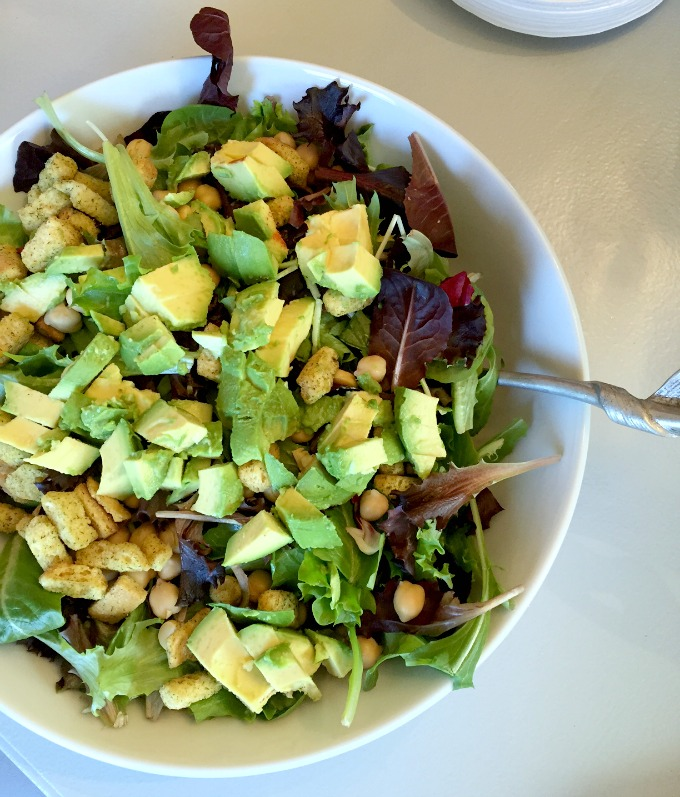 Christmas Eve Lunch 2015 Avocado Salad