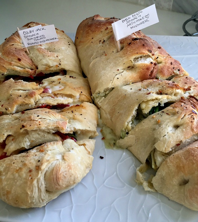 Christmas Eve Lunch 2015 Stromboli