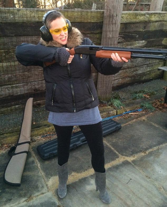 Meg Gun Shooting