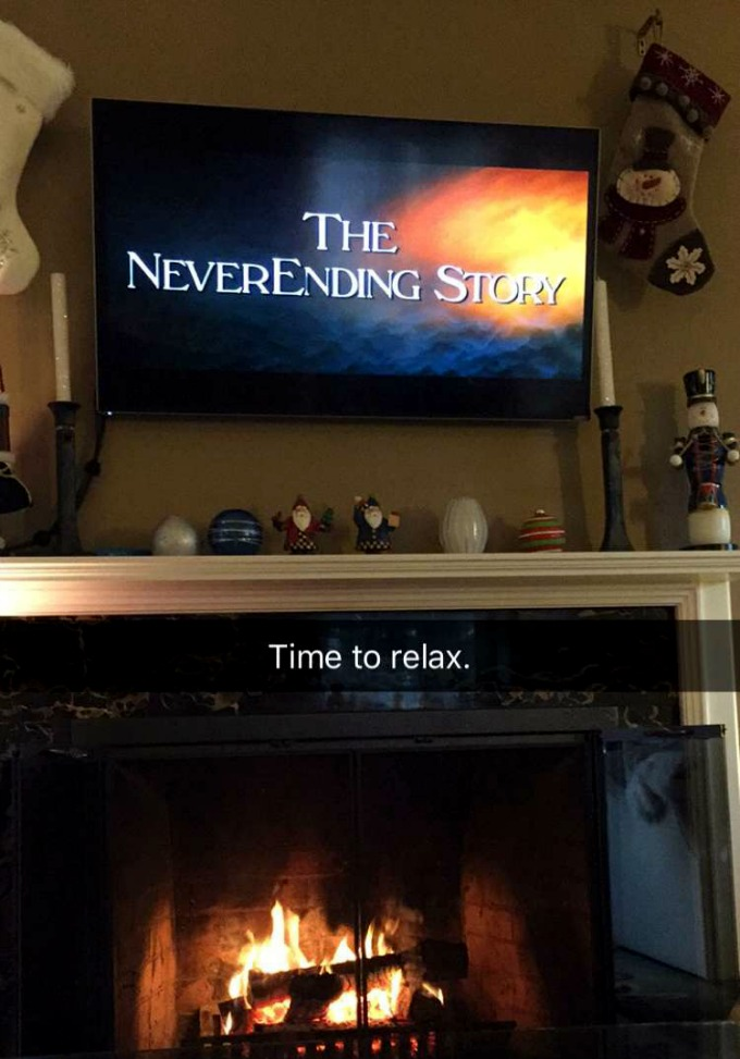 The Never Ending Story Fireside