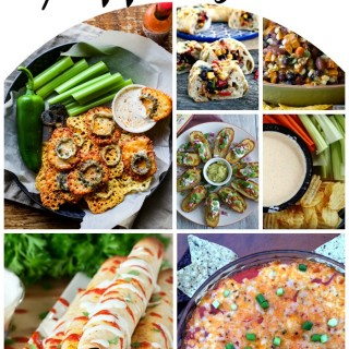 A recipe round up of the best and cheesiest game day appetizers sure to please everyone. #superbowl #superbowlappetizers