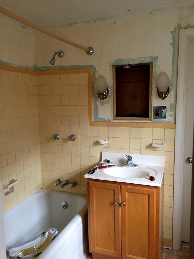 Guest Bathroom Demo