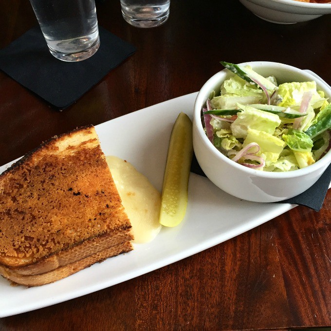Grilled Cheese and Chopped Salad from Lago