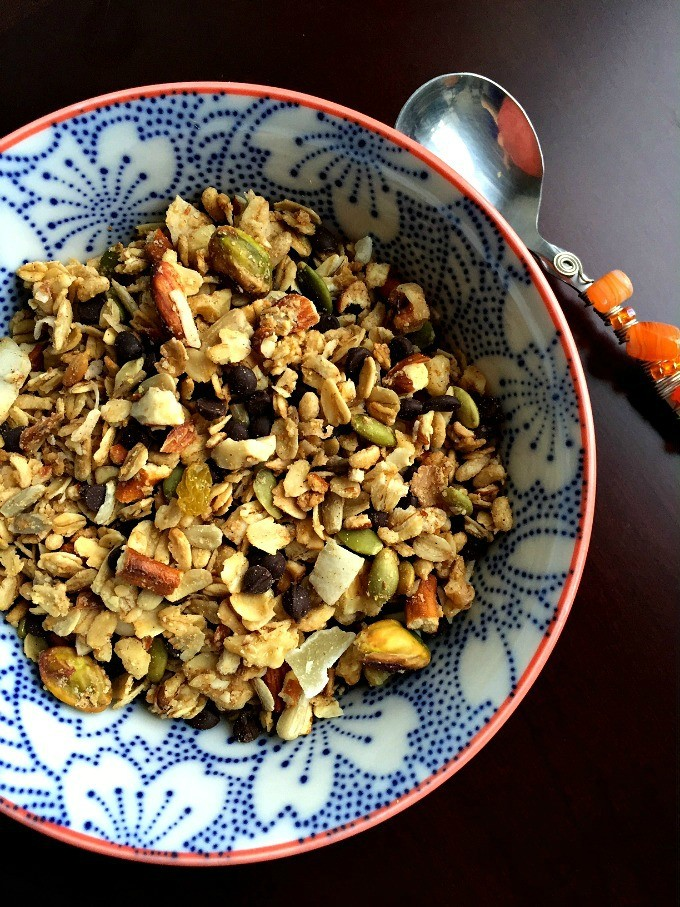 Sweet and Salty Trail Mix Granola
