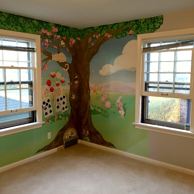 Nursery Grey Walls