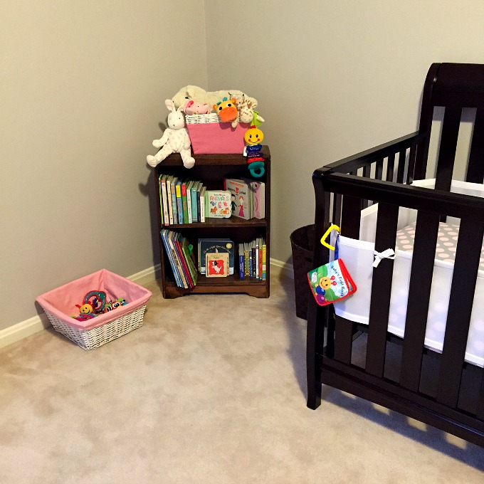 Nursery - Crib and Bookcase