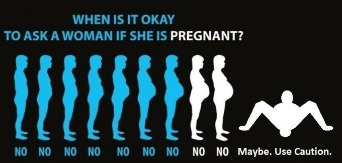 When Is It Okay To Ask A Woman If She's Pregnant