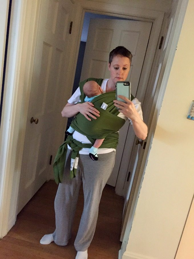 Baby Wearing - Ave and Meg