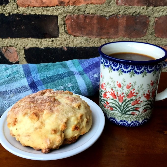 Breadsmith Cinnamon Scone and Coffee