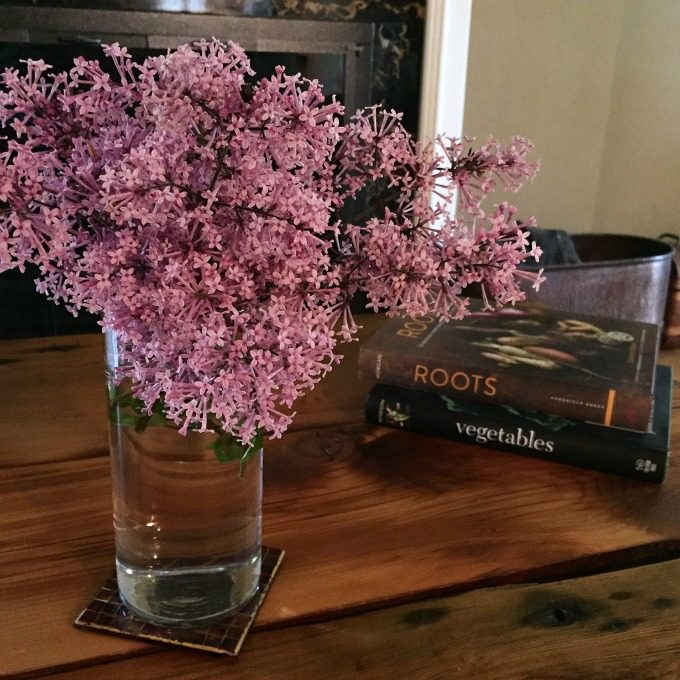 Lilacs and Cookbooks