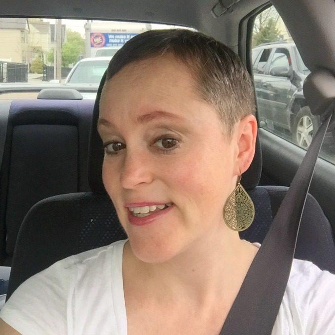 Meg Hair Cut Selfie
