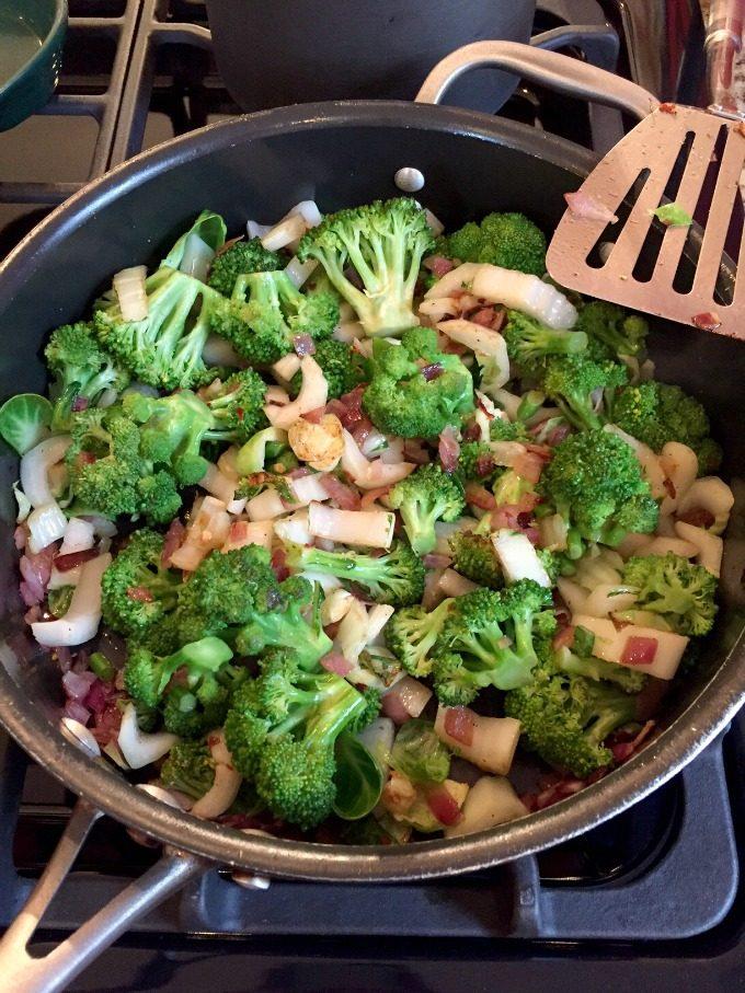 Veggie Stir Fry in Progress