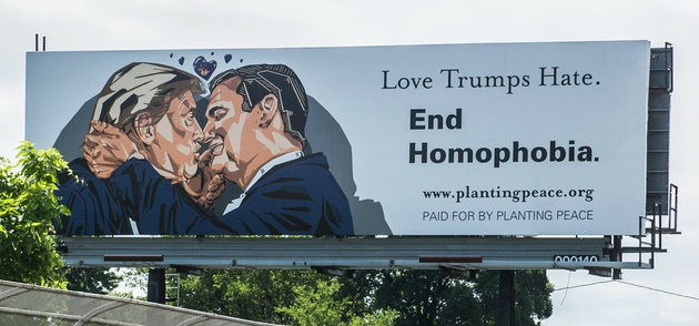 Love Trumps Hate End Homophobia