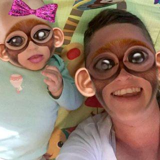 ave-and-meg-monkeying-around